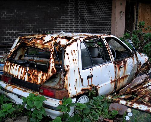 Suzuki Abandonado