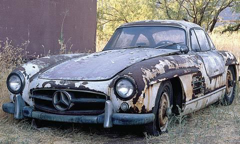 Mercedes 300SL Coupe Old