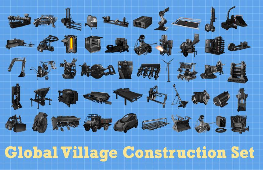 Tecnologias Open Source – Equipamentos e Máquinas Reais em forma de Legos