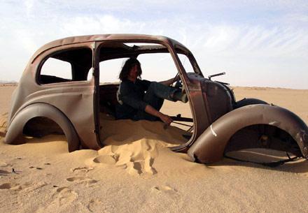 Car Desert Abandoned